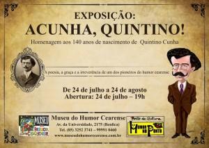 Exposição ACUNHA, QUINTINO!